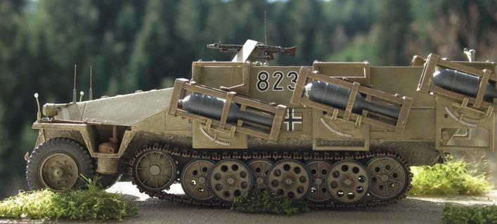 "sd kfz 251 ""stuka zu fuss"" Tamiya 1/35 501363modles128016"