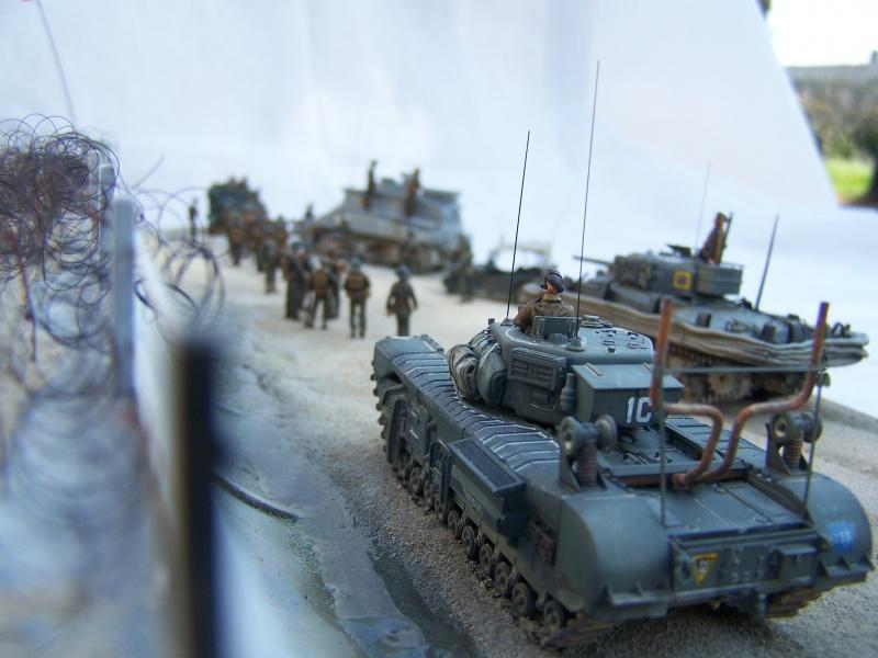 """Juno Beach"" 06.06.1944 Le Fort Garry Horse débarque.... 5022441007490"