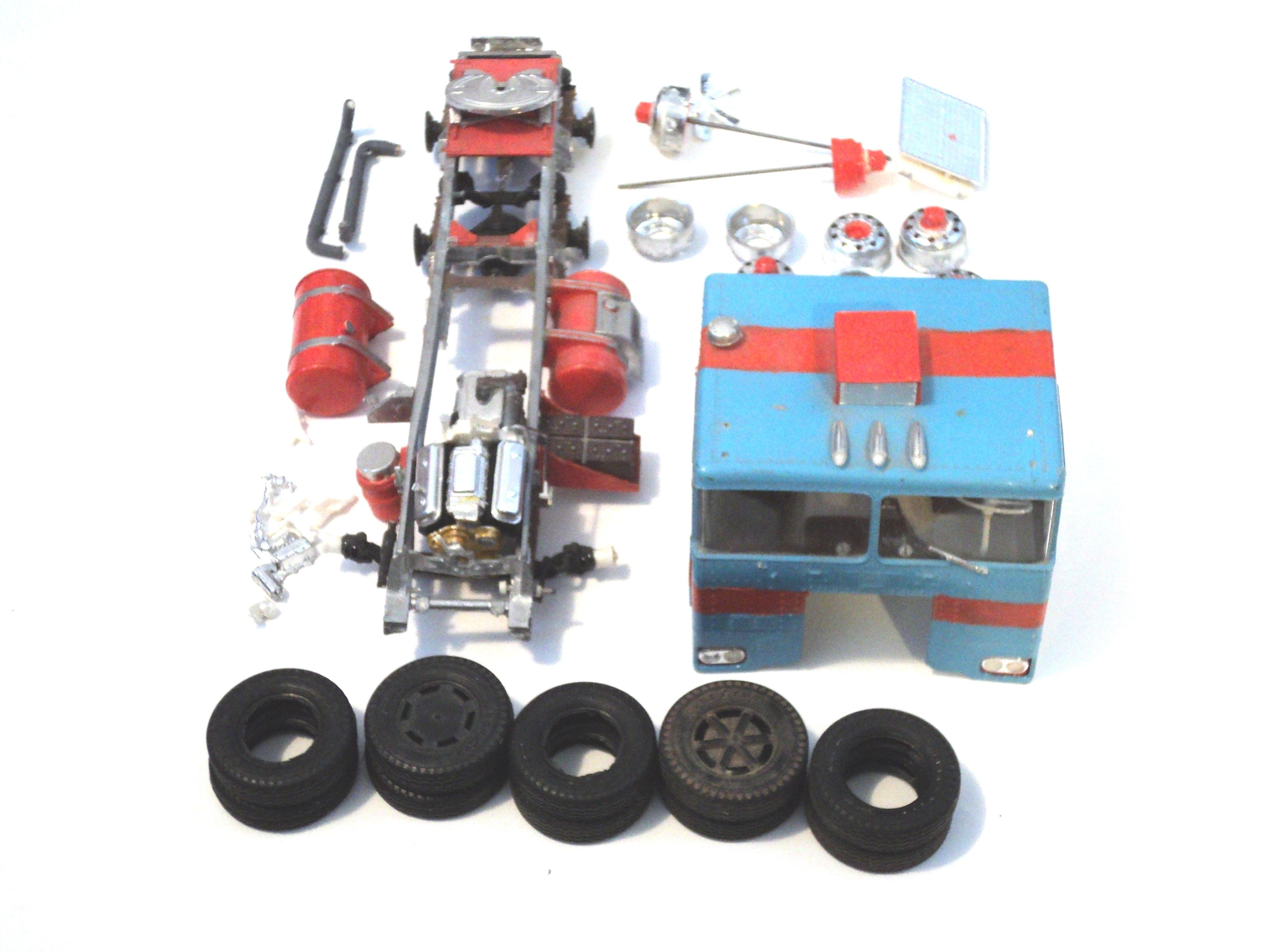 1975 Peterbilt cabover 1-25 5025180501975Peterbiltcabover