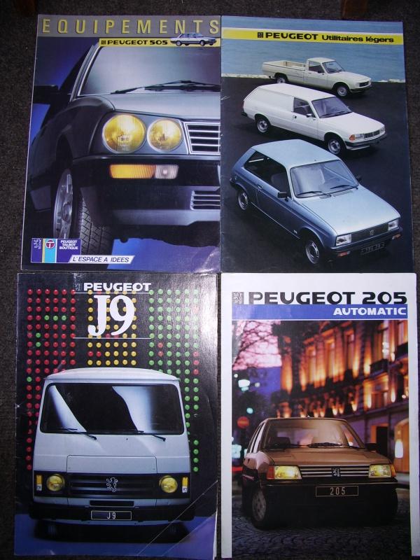 Vos revues/brochures/dépliants Peugeot 503230IMGP1276