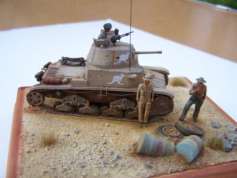 Char moyen M13/40 Tobrouk 1941 5054041005586