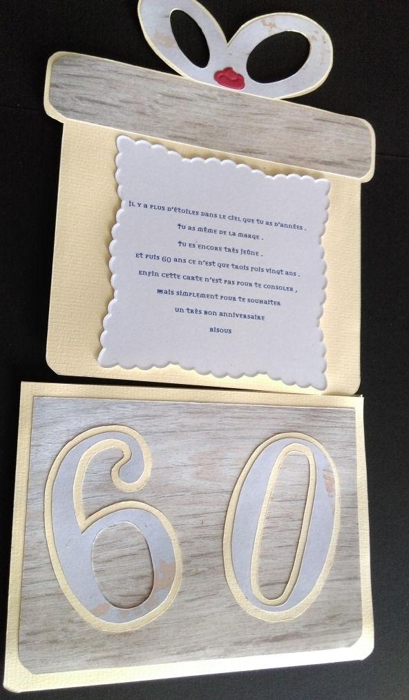 Carte anniversaire  avec deux dutch doobadoo  avec video  506452816