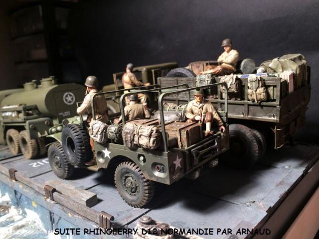 Rhinoferry D12 plage du débarquement Normandie (Hobby Boss, AFV, Italeri, 1/35) - Page 2 506876dodge3003