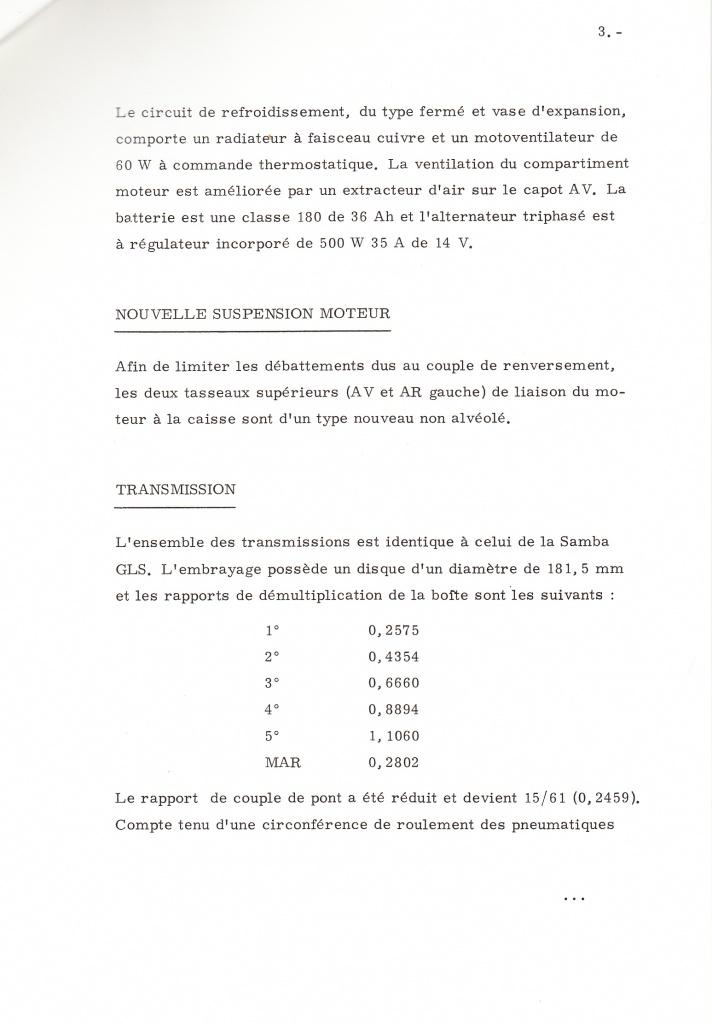 Dossier de presse Talbot Samba Rallye (septembre 1982) 506901a0006
