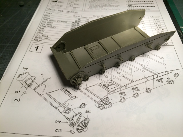 M24 Chaffee light tank, AFV Club 1/35 507623IMG35531