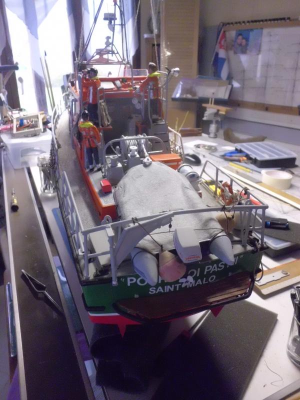 POURQUOI PAS II canot 17.60m SNSM Saint-Malo sur plan au 1/20° - Page 8 508279CIMG3480