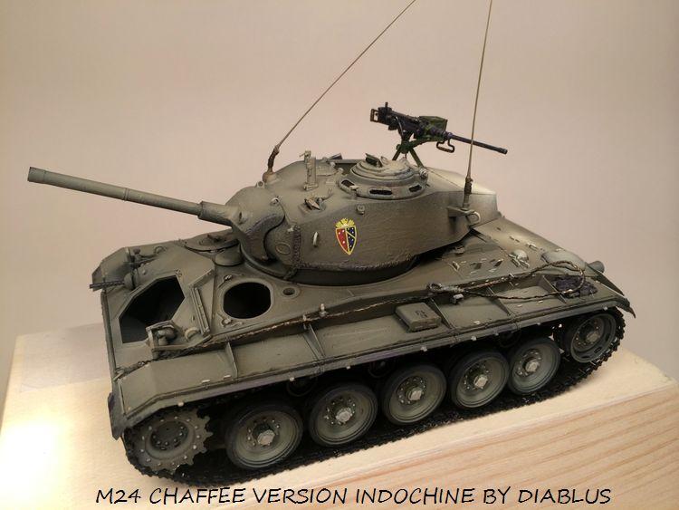 M24 Chaffee light tank, AFV Club 1/35 508371IMG35931