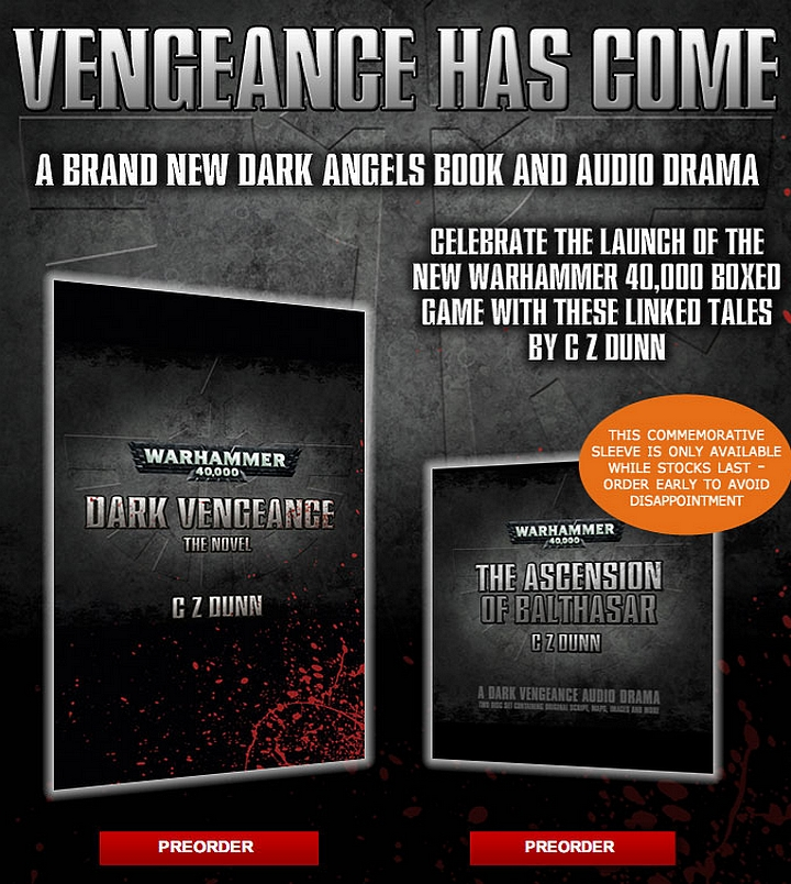 Vengeance Noire – Le Roman & The Ascension of Balthasar de C.Z. Dunn 508391vengeancepreorder