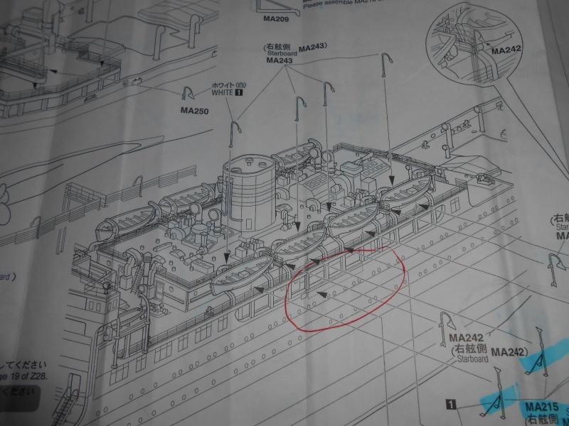Hikawa Maru hopital 1/350 PE/pont en bois et babioles  - Page 7 508539DSCN6016