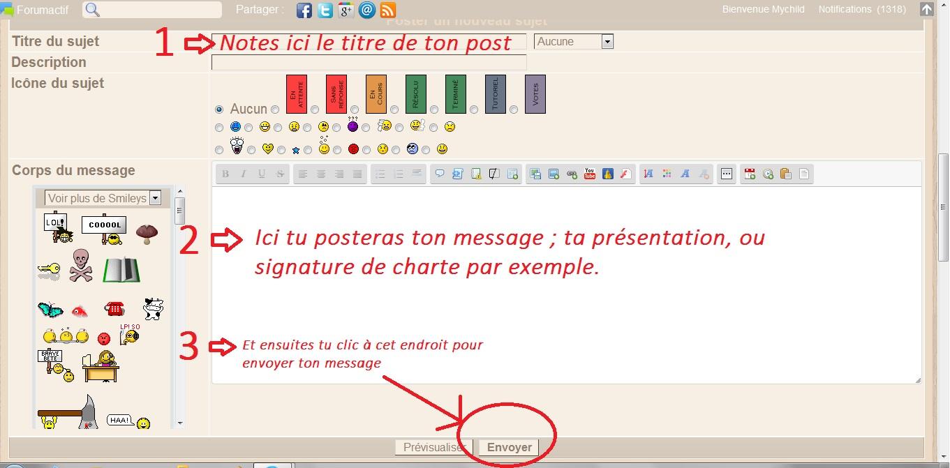 Comment poster un nouveau message ? 508668tutorep3