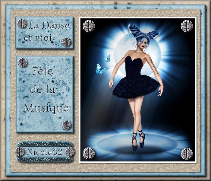"""41 """"La danse et moi """" tuto de vannades cré@ 509430670841Ladanseetmoi"""
