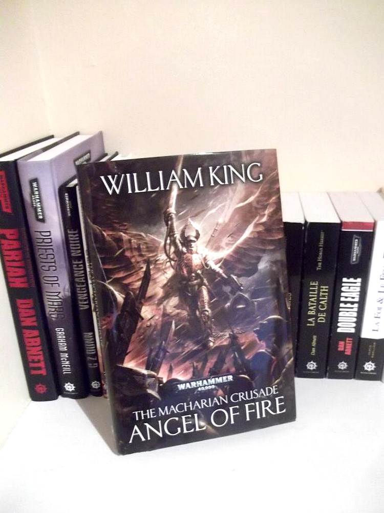 Angel of Fire (The Macharian Crusade) de William King 510065Angeloffirehardback