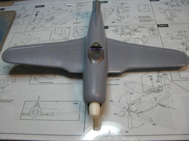 Ryan XF2R-1 Dark Shark Czech Model 1/48.....Terminé! 510094IMG8956