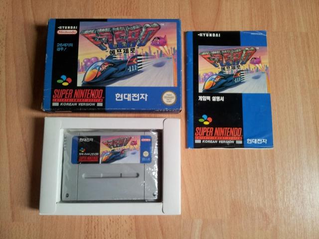 Prupru's Collection ! 100% Super Nintendo et 200% Super Comboy !! 511937FZero