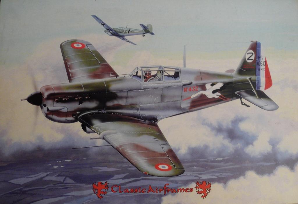 Morane Saulnier MS406 1/48 Classic Airframe 512555P1090570