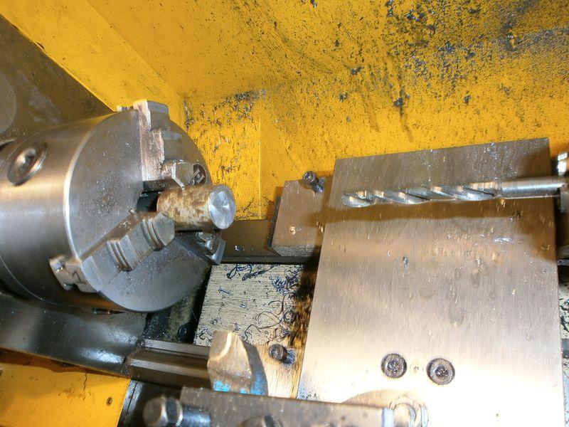 """Fabrication d'un """"bouchon"""" pour mon bac à copeaux pour récupérer le fuide de coupe 513116PB100036"""