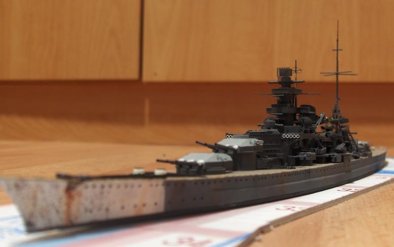 Scharnhorst 1/700  [Tamiya] par Flash 513523HPIM2226