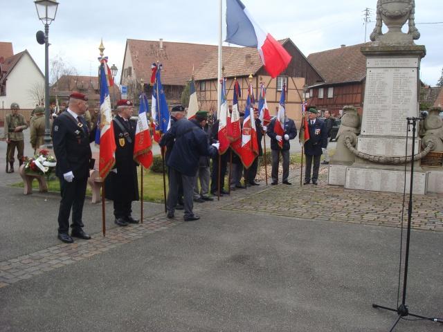 Jebsheim : 60 parachustistes du 1er RCP commémorent la libération de la Poche de Colmar 514133056