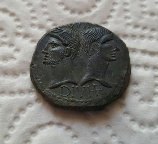Dupondius de Nîmes de type 2 514615photosmonnaieiphone010