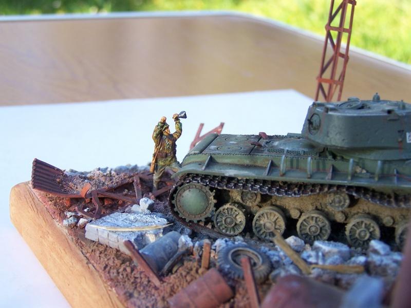 """Duel""  KV1c vs Panzergrenadiere Russie 42 5151091005508"