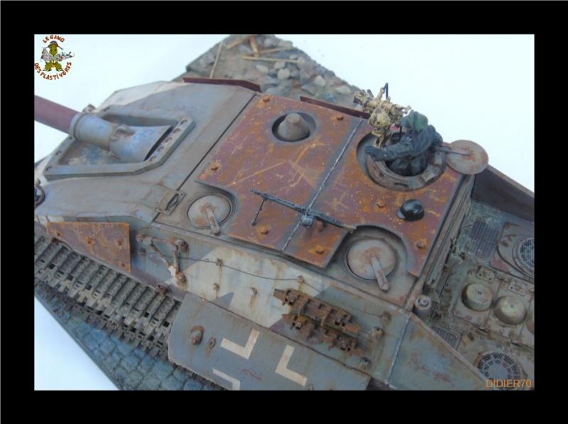 E-100 Jagdpanzer Krocodil 1/35 trumpeter 516490Sanstitre21GF