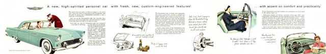 ford thunderbird 1955 au 1/16 de chez amt  5165841955FordThunderbirdFolder020304