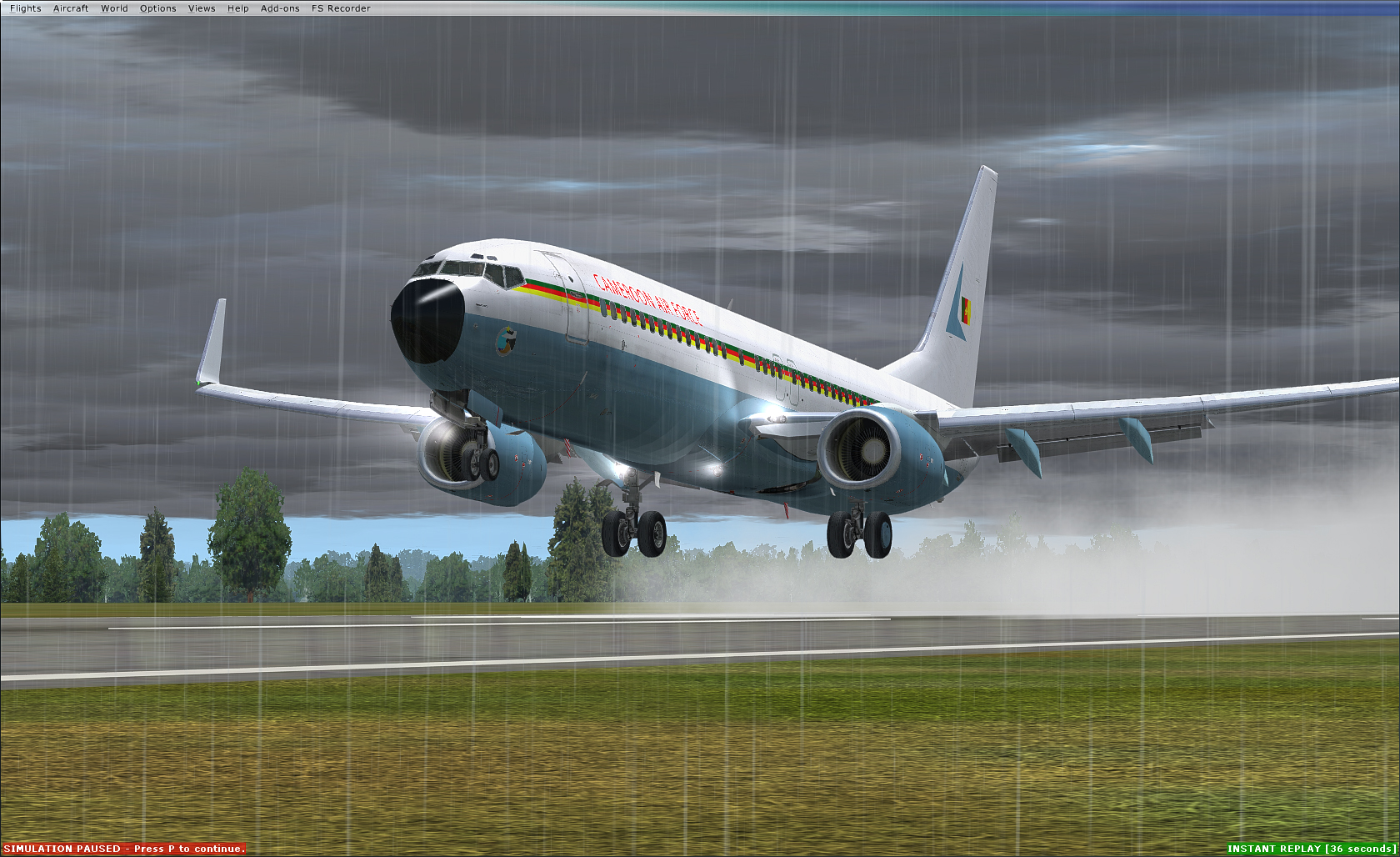 """Cameroonising Heavily"" Flight Simulator for a while now... 517681Screenshot27503"