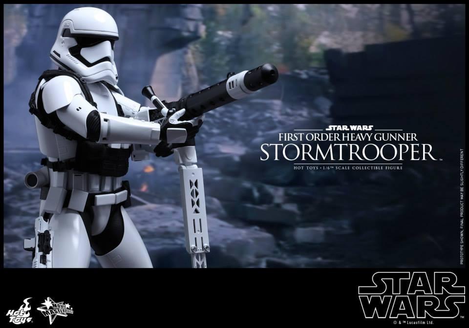 HOT TOYS - SW7: TFA - First Order Heavy Gunner Stormtrooper 517814112