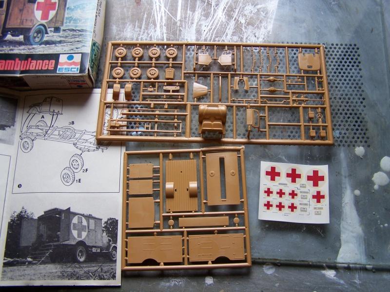 Opel Blitz Ambulance Normandie été 1944 5199591005834