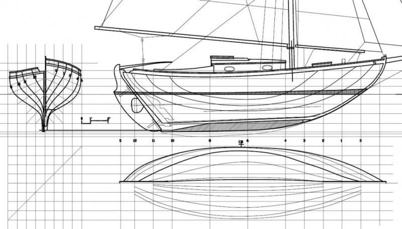 Construction d'un voilier motorisé 522162391955726