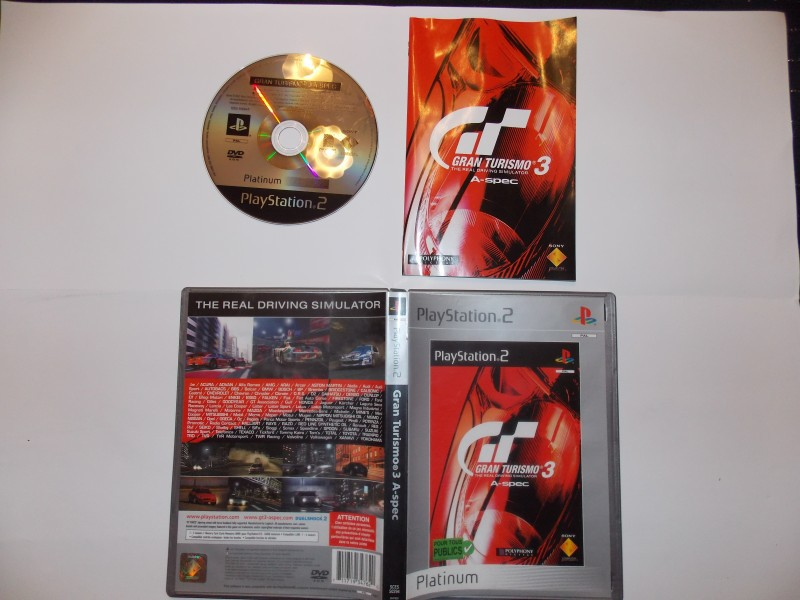 Gran Turismo 3 A-spec 522324Playstation2GranTurismo3plat