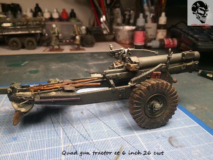 Quad gun tractor et 6 inch 26 CWT en Normandie 1/35 522438IMG4804