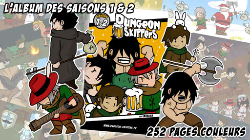 [Webcomic] Dungeon Skippers (Campagne Ulule en cours !) 522780Cover1