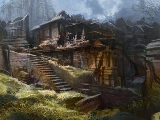 Village de Kaldathor (Sud de Ramuial)