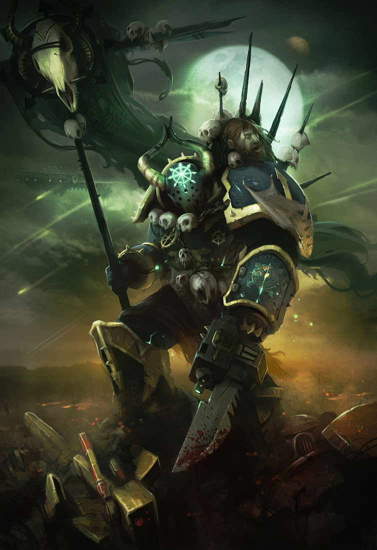 [W40K] Collection d'images : Space Marines du Chaos 525136ChaosRising8