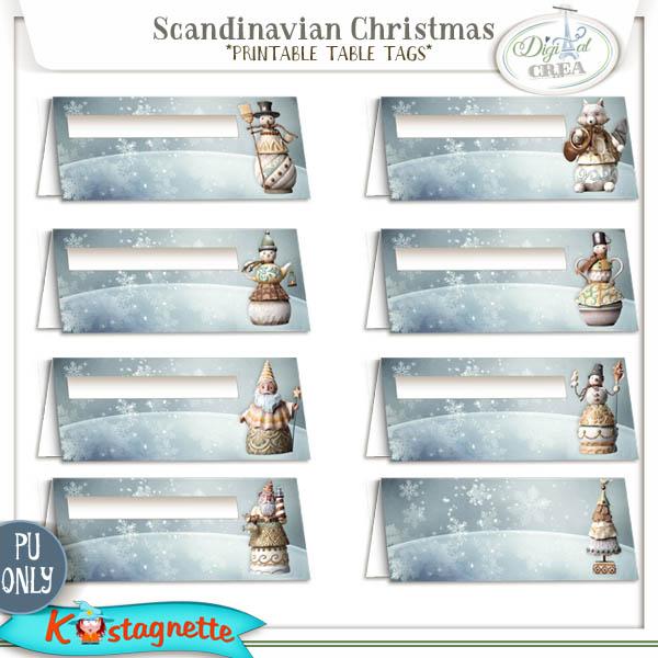 Collection Scandinavian Christmas de Kastagnette + Promo et freebie 525545125
