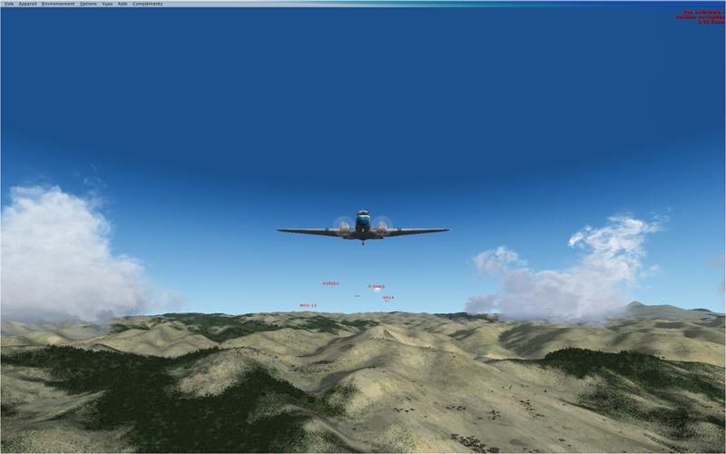 Vol en formation en Afrique (DC3) 525703201322221139878