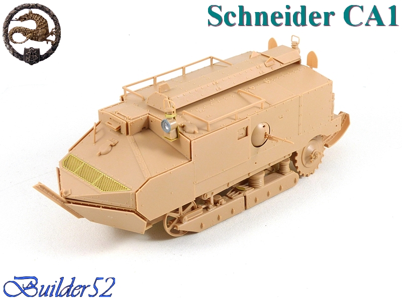 CHAR SCHNEIDER CA 1 - HOBBY BOSS 1/35 525854P1040926