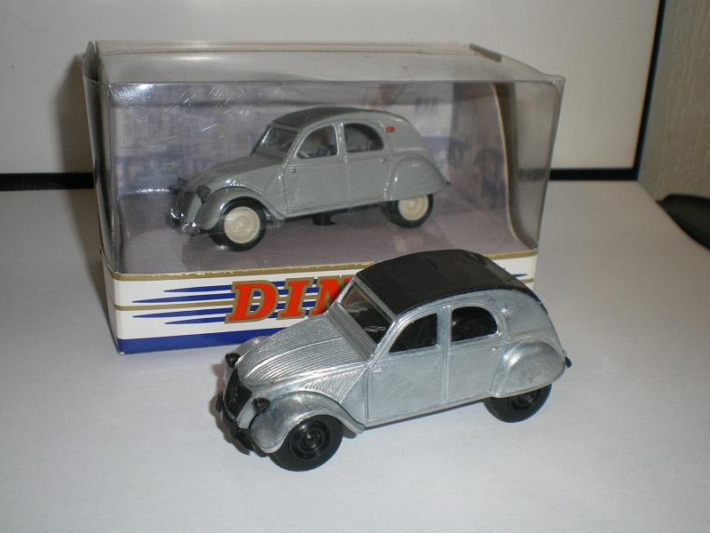 Citroën 2CV - 1957  - Dinky DY 32 - Matchbox Collection. 526469IMGP0088