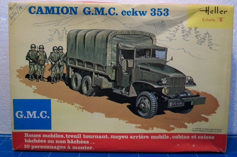 GMC . CCKW 353 (Réf. L809) 1/35 526529GMC000