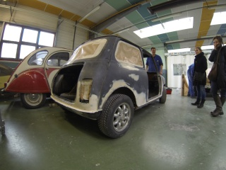 Restauration Mini Austin 1300 Injection 526601GOPR0064