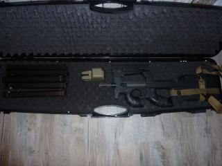 P90 KA, M4 gb Systema, lance-grenade post Apo, radio/casque 526801P902
