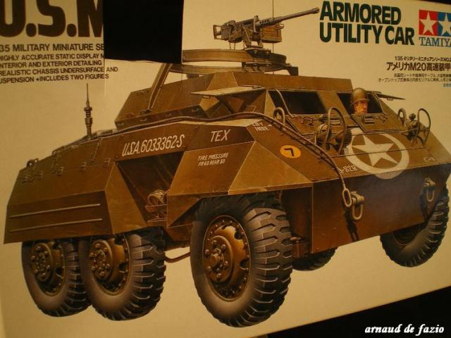 M-20 armoured car et jeep blindés dans les ardennes 1/35 526829IMGP1548