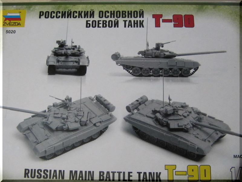 T90 Vladimir - Zvezda - 1/72ème 526908arrirebote