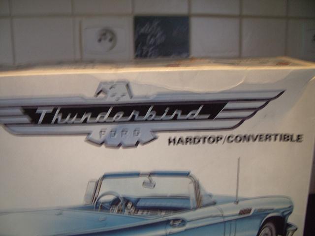 ford thunderbird 1955 au 1/16 de chez amt  527133003