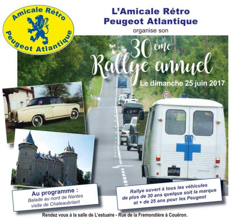25 Juin - 30ème Rallye de l'Amicale Rétro Peugeot Atlantique 52812530rallye