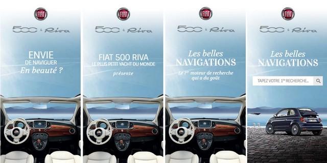 Commercialisation de la nouvelle Fiat 500 Riva - Vendredi 8 Juillet 2016 529185Bannires500Riva