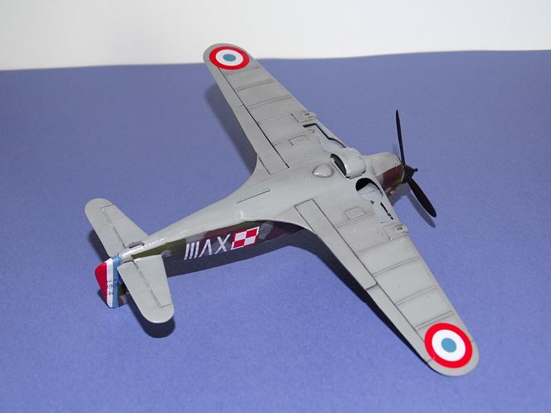 Morane Saulnier MS 406 GC I/2 Damblain Sgt Antoni Beda Avril 1940 529280DSC01743