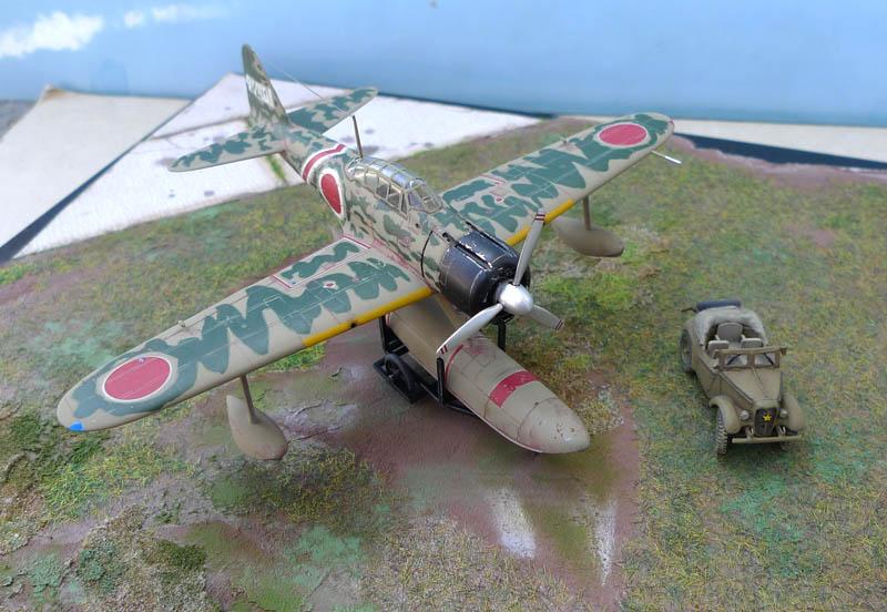 "[Hasegawa] - Nakajima A6M2 N ""Rufe"". 530285Rufe43"