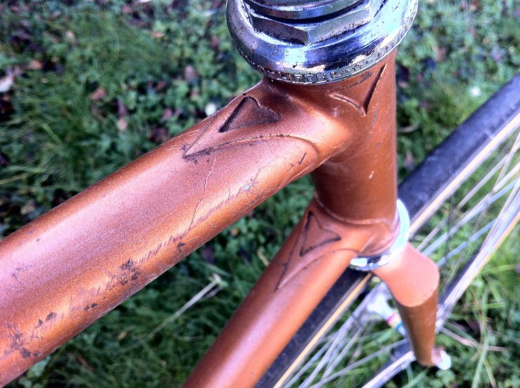 Vélo de piste Jean Marie Brun Tubes Columbus 530716IMG0384